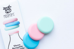 12/31: The three tops (judi may) Tags: pastelcolours pastel pastelhues productshot productphotography highkey negativespace canon5d macro whitebackground white october2019amonthin31pictures tabletopphotography
