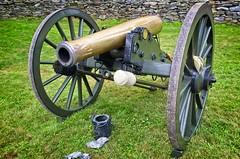 Twilight's Last Gleaming Civil War Reenactment 2019 (Gray Lensman QX!) Tags: gathlandstatepark americancivilwar civilwar cannon confederates confederacy