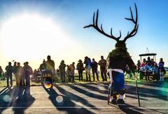 Acoma Dance. (kmetz12.km) Tags: krismetz 2019 balloonfiesta nativeamerican elk spiritual newmexico abq tribalart albuquerque pueblo native acoma tribal