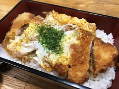 Katsu-don (Phreddie) Tags: tonkatsu katsudon japanesefood lunch yum delicous eat food egg restaurant tokyo japan