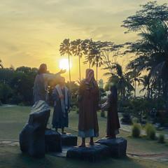 Morning in His Hand (yanuarpotret) Tags: sunrise morning catholic pagi sony sonyalpha day