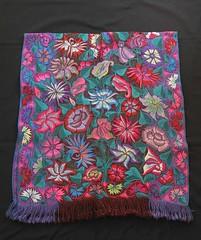 Serape Poncho Mexico Maya Chiapas (Teyacapan) Tags: maya textiles poncho gaban serape zinacantan chiapas mexican ropa clothing
