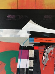 Jim Harris: Mining Operations at Doom Mons. (Jim Harris: Artist.) Tags: peinture art arte artist technology technik abstractart kunstzeitgenössische kunst künstler