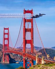 Fleet Week San Francisco 2019 (davidyuweb) Tags: 三藩市 fleetweeksanfrancisco blue angels goldengatebridge luckysnapshot