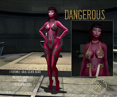 Devil In Red Skin & Dangerous (lemaniaindigo) Tags: fantasy skin devil red catwa maitreya mesh sl secondlife