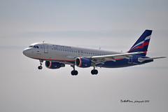VP-BRY (mduthet) Tags: vpbry airbus a320 aeroflotrussianairlines aéroportdenicecôtedazur