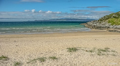 Beach known as Camusdarach with views to Skye, Rum and Eigg, West Coast of Scotland. (Scotland by NJC.) Tags: seaside coast shore coastline shoreline sand shingle pebbles شاطِئ praia 海滩 plaža pláž strand playa hiekkaranta plage παραλία spiaggia 浜辺 바닷가 plajă island isle islet archipelago atoll key جَزِيرَةٌ ilha 岛屿 otok ostrov ø eiland isla saari île insel νησί isola wyspa insulă остров 海岸线 litoral côte küste linea costiera 海岸線 해안선 seashore seaboard beach camusdarach morar westcoastofscotland scotland