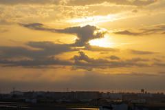 Amanecer en Valencia 97 (dorieo21) Tags: sunrise sky cielo ciel sole sol soleil sun sunlight amanecer alba aurora aurore sonnenaufgang himmel wolke wolken nube nuage nubes nuvola nuages nuvole nikon d7200 landscape panorama panorámica panoramique