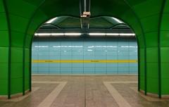 Munich - Böhmerwaldplatz (cnmark) Tags: germany munich deutschland münchen bayern bavaria ubahn subway station böhmerwaldplatz u4 tube underground architecture architektur ©allrightsreserved