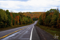 On the road again!!! (ats8110) Tags: autumn color d850 nikon michigan road lakeoftheclouds