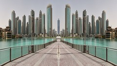 Peer (Rob Oo) Tags: architecture ccby40 dubai gimp unitedarabemirates ro016b urban cityscape symmetry hss