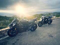 Yamaha R6 & Triumph Street Triple 765 RS (Cars & Bikes) Tags: r6 r1 triumph yamaha biker bike moto