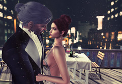 We could steal time... (Mia M. Ulriq) Tags: sl secondlife love couple maitreya catwa dancing justbecause magika witcher second life virtual