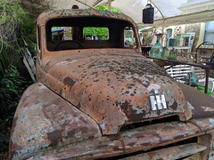 Patina - International Truck (nickant44) Tags: rust rusty international australia nokia hahndorf truck patina