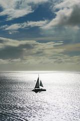 Hawaiian Sail (Ken Mickel) Tags: clouds coast hawaii kaanapali kenmickelphotography landscape maui ocean outdoors seascape sky waterscape photography sunset water lahaina unitedstatesofamerica
