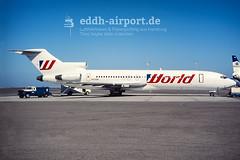 World Airways, N408BN (timo.soyke) Tags: n408bn worldaw worldairways boeing b727 trijet triholer airplane jet aircraft