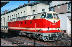 219-165-1995-03-05-1-Gera (steffenhege) Tags: gera deutschebahn kramermütze uboot 219 119 219165