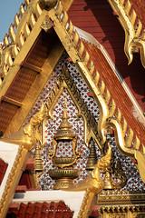 The Insignia of King Rama IV, Wat Tri Thotsathep (imageofbangkok) Tags: architecture bangkok buddhisttemple kingramaiv thaiarchitecture ubosot wattrithotsathep