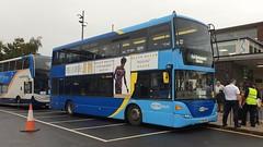 Metrobus 6984 (YP09 HWT) Chichester 13/10/19 (jmupton2000) Tags: yp09hwt scania omnidekka metrobus goahead south coast crawley rail railway replacement bus