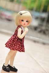 My girl ❤️ (♥..Nomyens..♥) Tags: bjd balljointdoll toy doll custom faceup paint painting painted repaint handmade nomyens nomyenscom luts honeydelf yosd tinydol