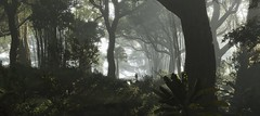 ''A Jungle Out There'' (HodgeDogs) Tags: ubisoft gaming games pc nvidia ghostreconwildlands ubisoftparis larahjohnson jungle tree people photography bushes