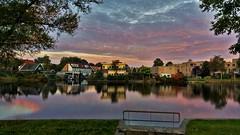 Zon op over Zaandam (Peter ( phonepics only) Eijkman) Tags: zaanstad zaandam zaan zaanstreekwaterland dawn sunrise zonsopgang nederland netherlands nederlandse noordholland holland