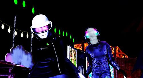 Daft Punk fan photo