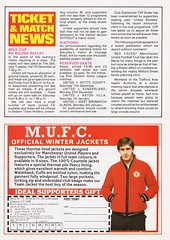 Manchester United vs Southampton - 1982 - Page 7 (The Sky Strikers) Tags: manchester united southampton the milk cup road to wembley old trafford review official season programme 30p