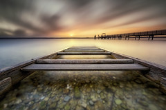 Ammersee (Robert_Freytag) Tags: ammersee long exposure nikon filter nd gnd le water sky
