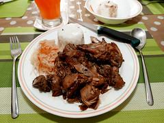 chicken adobo (DOLCEVITALUX) Tags: adobo chickenadobo food meal lumixlx100 panasoniclumixlx100 panasoniccameras