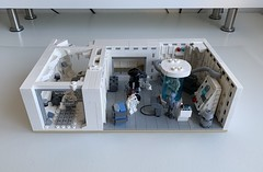 My very own Hoth Echo Base Medical Bay with Corridor MOC (TheCreatorr) Tags: lego starwars legostarwars moc legomoc starwarsmoc legostarwarsmoc legobrick legohoth legoechobase hoth echobase legophoto theempirestrikesback