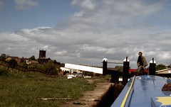img425 (foundin_a_attic) Tags: canal boat 1980s stmichael middlewich cheshire