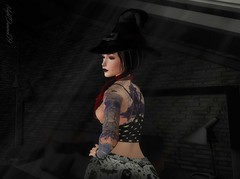 Yes Dear? Oh it's just the Halloween Night - 2 (NightDreamer09) Tags: secondlife backdropcity catwa maitreya escalated