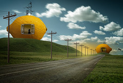 Citrus Grove (Malcolm Hare Photography and Tuition) Tags: hss composite fantasy house fruit