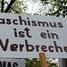Demonstration gegen rechten Terror und  Antisemitismus