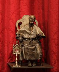 Saint John Henry Newman (Lawrence OP) Tags: newman stjohnhenrynewman cardinal relic saint statue littlemore oxford