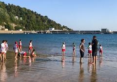 Imágenes veraniegas (eitb.eus) Tags: eitbcom 16599 g155472 tiemponaturaleza tiempon2019 playa gipuzkoa hondarribia josemariavega