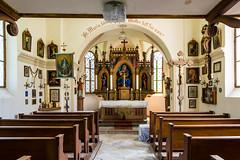 Little Chapel (George Plakides) Tags: riedenburg bavaria germany chapel interior altar church madonna