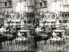 PICT0083 (Dominik Lange) Tags: stereoscopy stereophotography stereo3d stereography stereoscopic superimposition overlay outdoor openspace outside poetry documentary alteredstate abstract asahipentax blackandwhite beamspliter city dreams daydream diaries experimental expressionism filmpoetry freetime visionary parkcity lowtech
