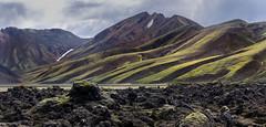 Battle scars (dmunro100) Tags: iceland lava flow glaciers mountains landscape rugged