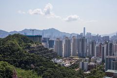 Views from the Hike, Hong Kong (Geraint Rowland Photography) Tags: hill height altitude lookingdown landscape views wwwgeraintrowlandcouk viewsfromthehike hongkong buildings city cityscape living metropolis asia visithongkong hk