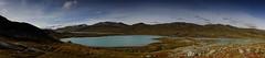 Glacier lake (dration) Tags: lapland sweden kungsleden panorama landscape lake