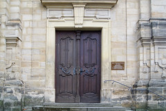 Kath. Kirche St. Jakob (kate223332) Tags: bamberg bavaria germany city oldcity religion catholicchurch door entry gateway portal deutschland