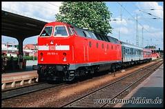 219-153-2000-04-29-1-Cottbus (steffenhege) Tags: cottbus deutschebahn uboot kramermütze 219 119 219153