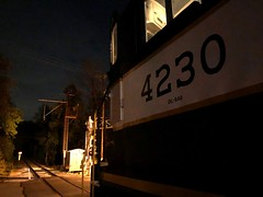 WCRR4230GlenMillsPA10-11-19 (railohio) Tags: pennsylvania trains alco mlw wcrr glenmills westchesterrailroad 101119 c424 iphone8 dinnertrain