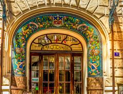 HOTEL Pariz Prague,Czechia (Blackburn lad1) Tags: archway czechia prague