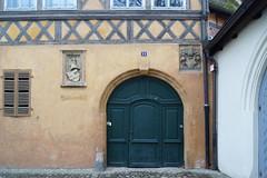 Domstraße 11, Bamberg, Germany (kate223332) Tags: bamberg bavaria germany oldcity door entry gateway portal deutschland