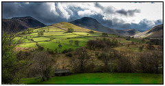 Newlands Valley and its Fells, Cumbria. (steve.gombocz) Tags: landscape nikon nikond810 nikoneurope nikoncamera nikkor nikon140240mmf28 cumbria westcumbria colour colours color natureisbeautiful ngc lakedistrict out outandabout landscapephotos landscapephotography landscapephotographs scenery landscapescenes mountains hills fells crags nature landscapepictures flickrlandscapes green cloud sky