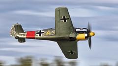 Focke Wulf 190A8 (kamil_olszowy) Tags: focke wulf fw 190a8 warbird low pass ww ii fighter hangar10 zirchow germany jg1 luftwaffe