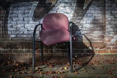 Pink Chair (Pieter Musterd) Tags: stoel pink paars pimpelpaars pietermusterd musterd canon pmusterdziggonl nederland holland nl canon5dmarkii canon5d